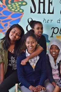 EEF students in Addis Ababa